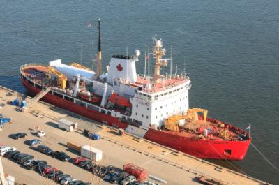 Canadian Coast Guard Vessel