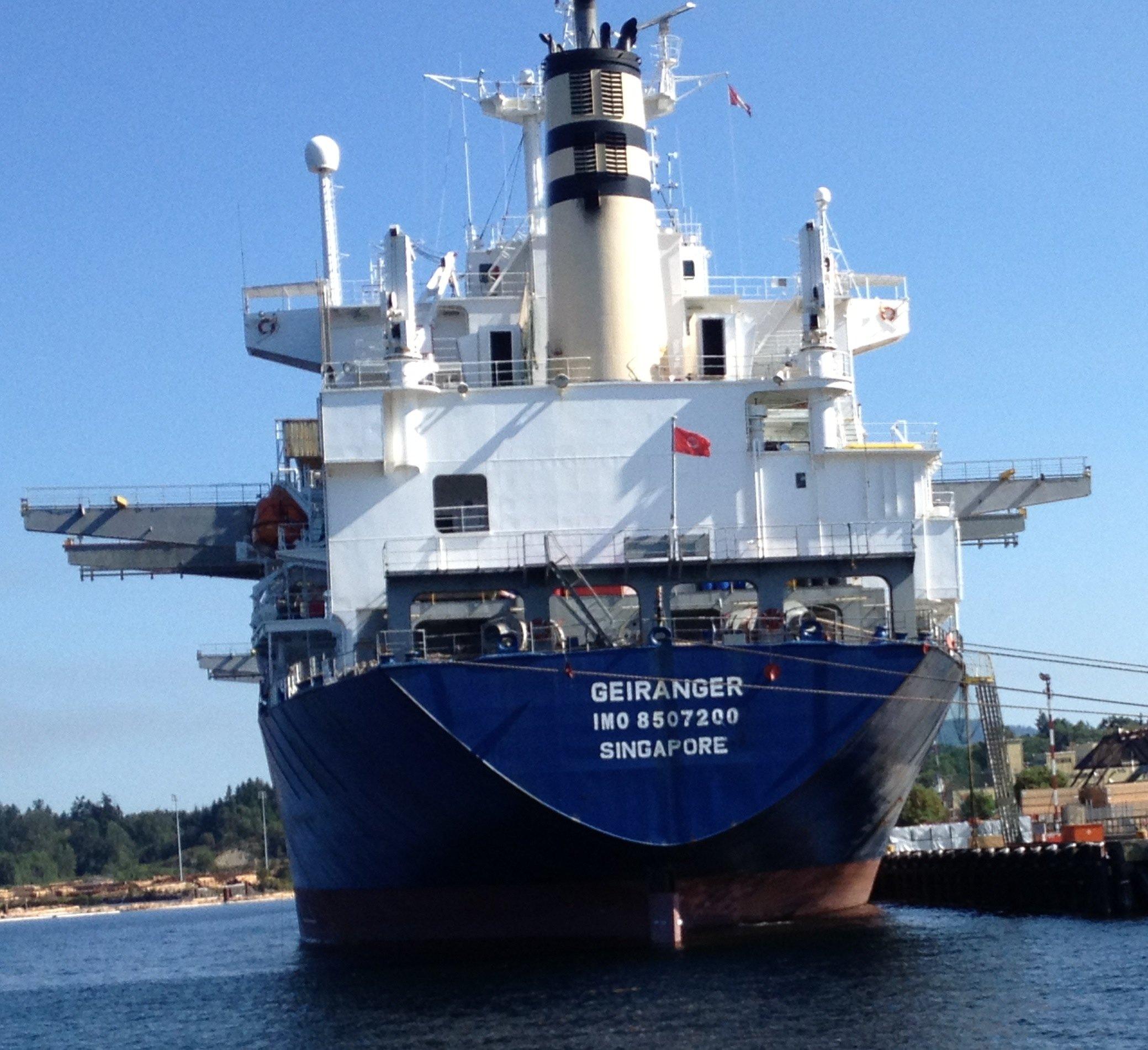 Maritime Transport Emissions ~ Shipping Matters Blog