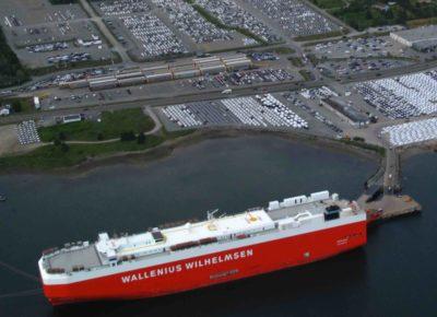 Auto logistics drive port activity ~ Shipping Matters Blog