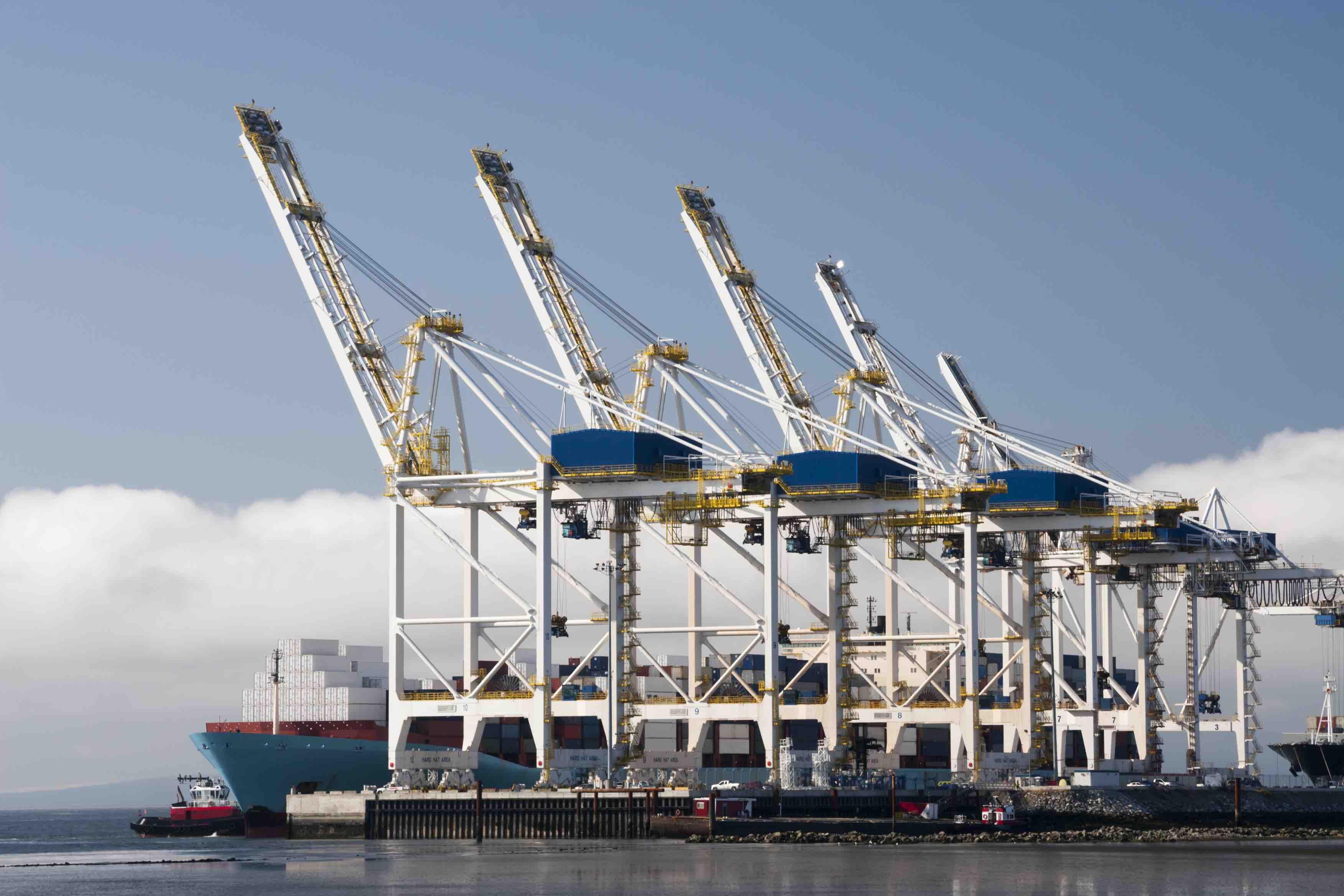 Port Container Cranes
